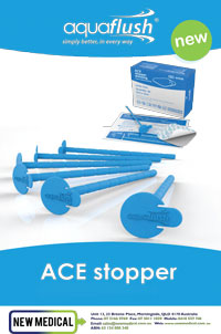 Download PDF - Aquaflush Adjustable ACE Stopper and Dressing""