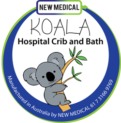 Koala Hospital Crib Bassinet and Bath from New Medical Australia