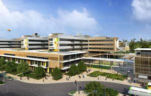 The new Sunshine Coast University Hospital