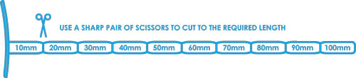 Aquaflash ACE Stopper - adjustable - use a pair of scissors to cut to required length