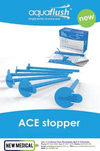 "Download PDF - Aquaflush Adjustable ACE Stopper and Dressing"""