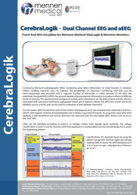 Cerebralogik Dual Channel EEG and aEEG - New Medical Brisbane Australia