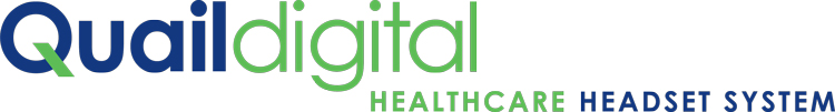 Quail Digital Medical Headsets - Healthcare Headset System - Distributed by New Medical, Australia and NZ