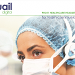 Quail Digital PRO 11 Healthcare Headset System available from NEW MEDICAL servicing Australia and New Zealand.