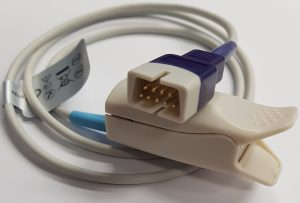 Nellcor Oximax SpO2 Reusable Sensor, 1m