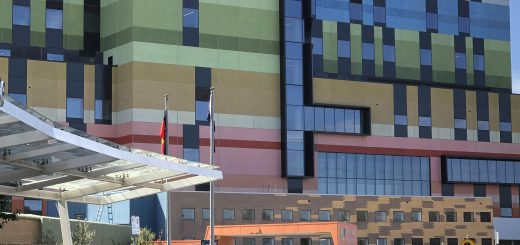 Joan Kirner Hospital -Opened in May 2019, the hospital will deliver more women's and children's inpatient beds, labour delivery rooms, special care nursery cots, operating theatres and additional clinics. This includes the very first neonatal intensive care cots in the west.