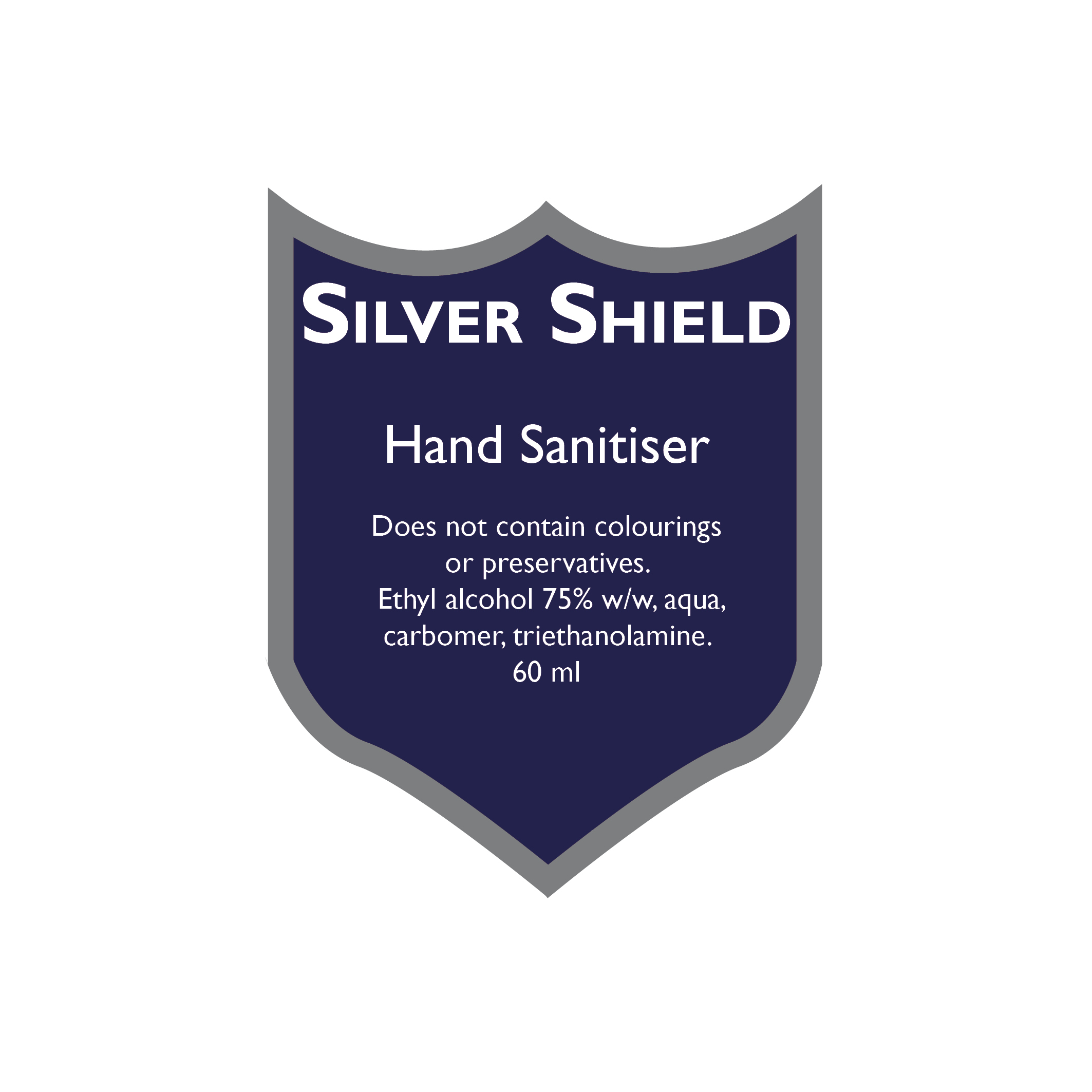 Silver ShieldSilver Shield Hand Sanitiser 60ml available from New Medical supplier of medical consumables, devices and accessories